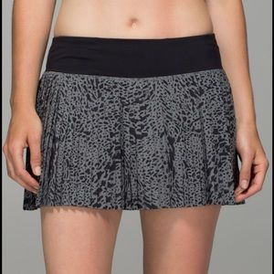 NWT Lululemon Pleat To Street Skirt II